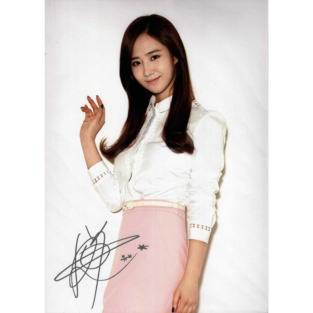 YURI / Girls'Generation Limited Photo [Genuine Official A4 size]