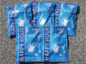 5 Packs of Happy Hour Vitamins