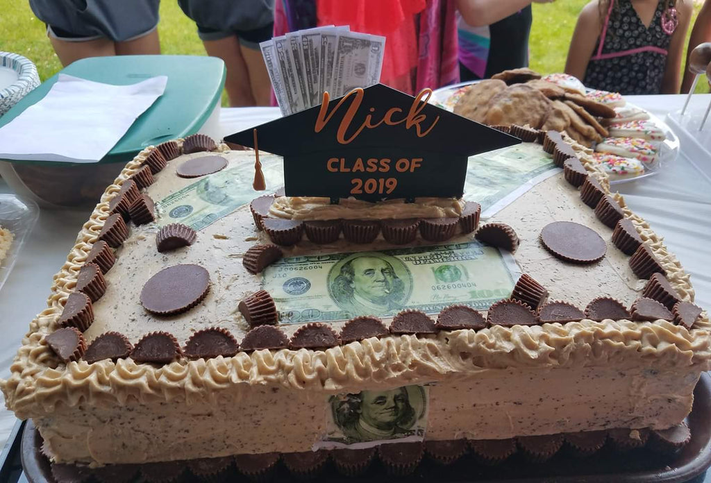 Virginia's Graduation Money Cake™