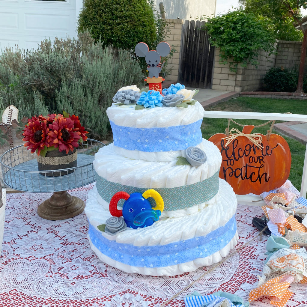 Money Surprise Diaper Cake