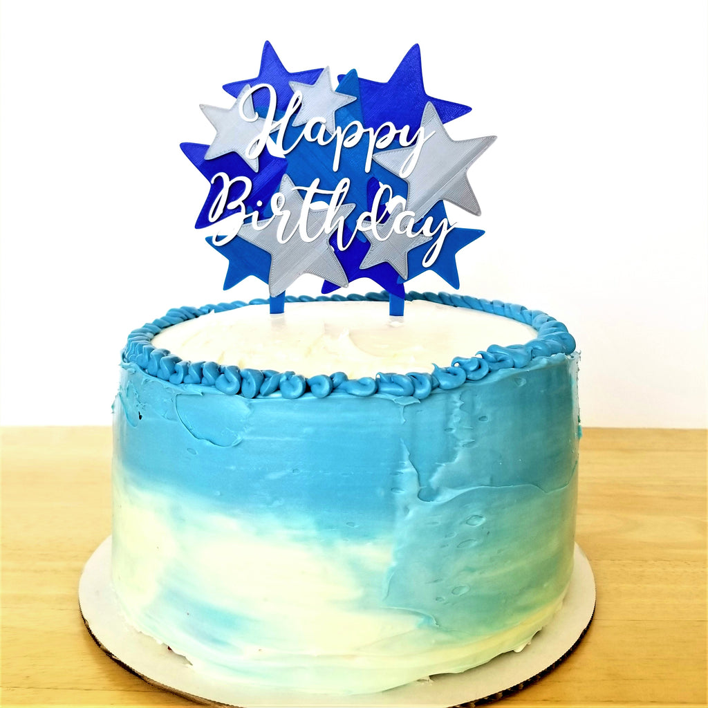 Stars Galore Cake Topper