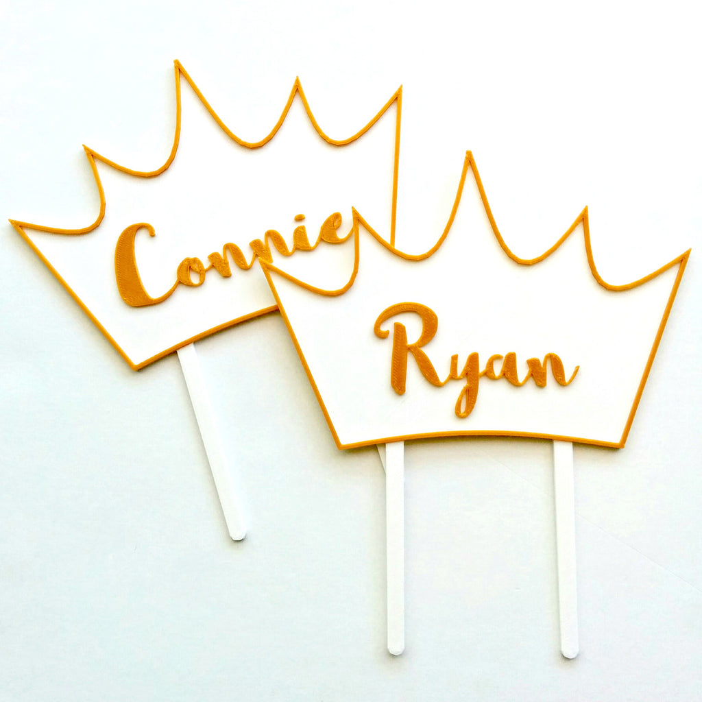 Crown Cake Topper