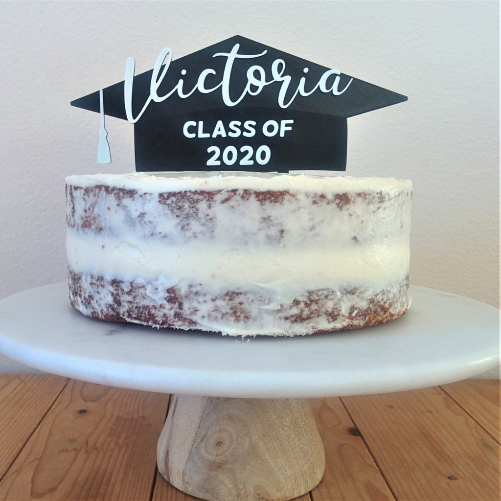 Graduation Cap with Tassel Cake Topper