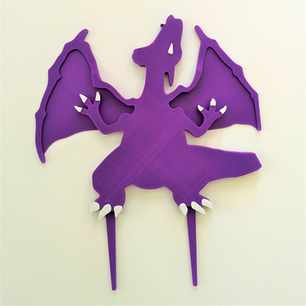 Dragon Cake Topper and Candle Holder