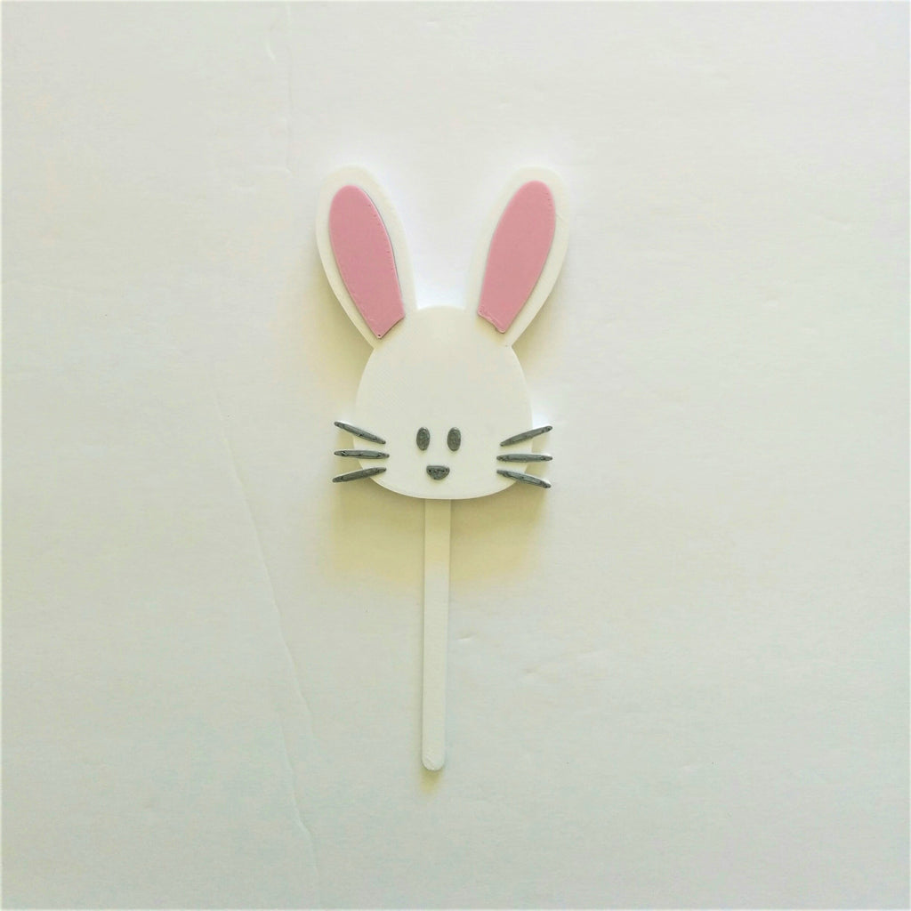 Bunny Cake Topper and Candle Holder