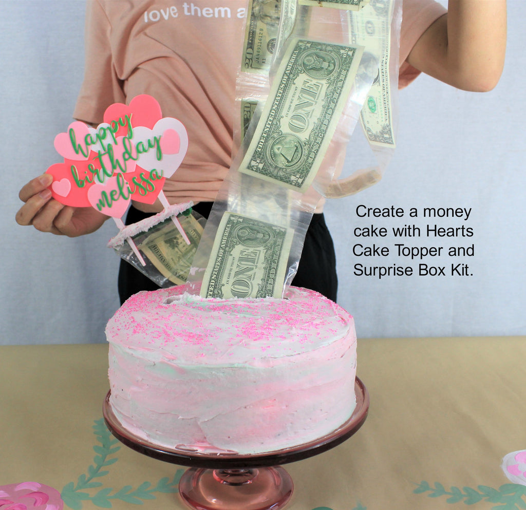 [Buy High Quality Money Cake and Cake Toppers Online] - The Money Cake