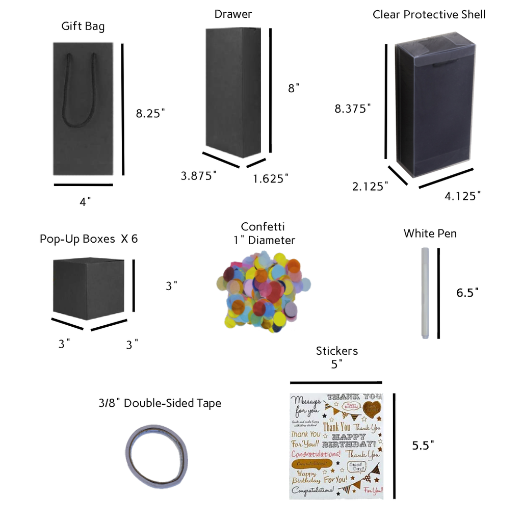 Surprise Cubes™ : Pop-Up Explosion Boxes Kit