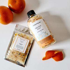 Orange Zest Bath Soaks