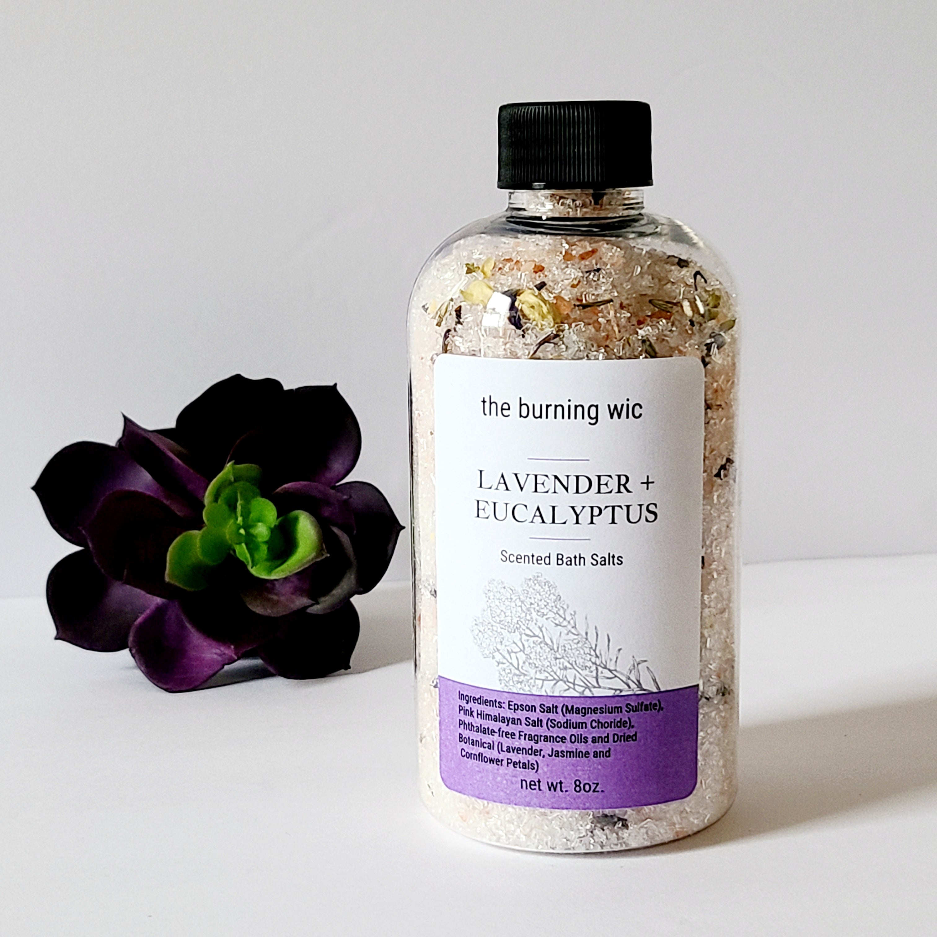 Lavender and Eucalyptus Bath Soaks