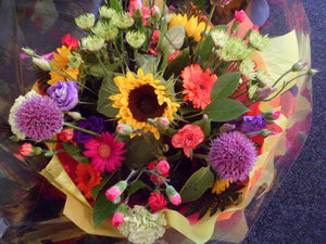END OF SUMMER ! BUT STILL BRIGHT AND BEAUTIFUL BOUQUETS