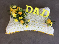 Funeral tribute pillows