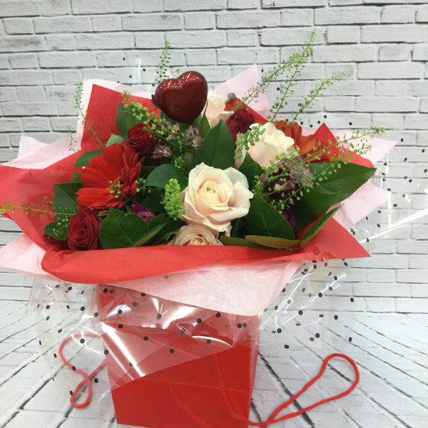 Beauty and stylish love bouquet