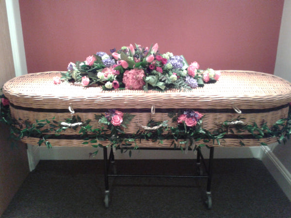 Casket spray Pink