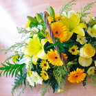 Basket Arrangement  Florist choice