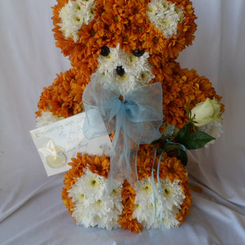 Teddy funeral tribute