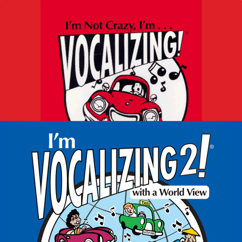 I'm Vocalizing! 1 & 2 Combo [Digital Download]