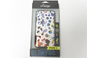"M-Edge iPhone 6/6S 4.7"" Paint Drops Echo Glimpse Slim Cover Case - Equipment Blowouts Inc. Established 2005."