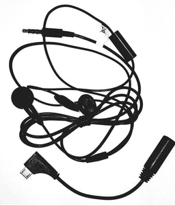 3.5 Wired headset with micro Usb adapter - Equipment Blowouts Inc.