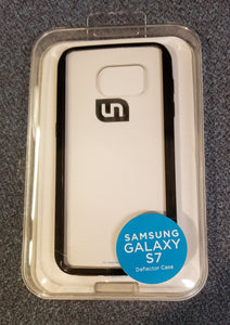 Uncommon Deflector Case for Samsung Galaxy S7 - Clear/Black - Equipment Blowouts Inc.