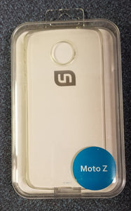 Uncommon Deflector Case for Moto Z- Clear - Equipment Blowouts Inc.