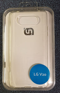 LG V20 - Clear Case Brand New Slim Fit Maximum Protection - Equipment Blowouts Inc.