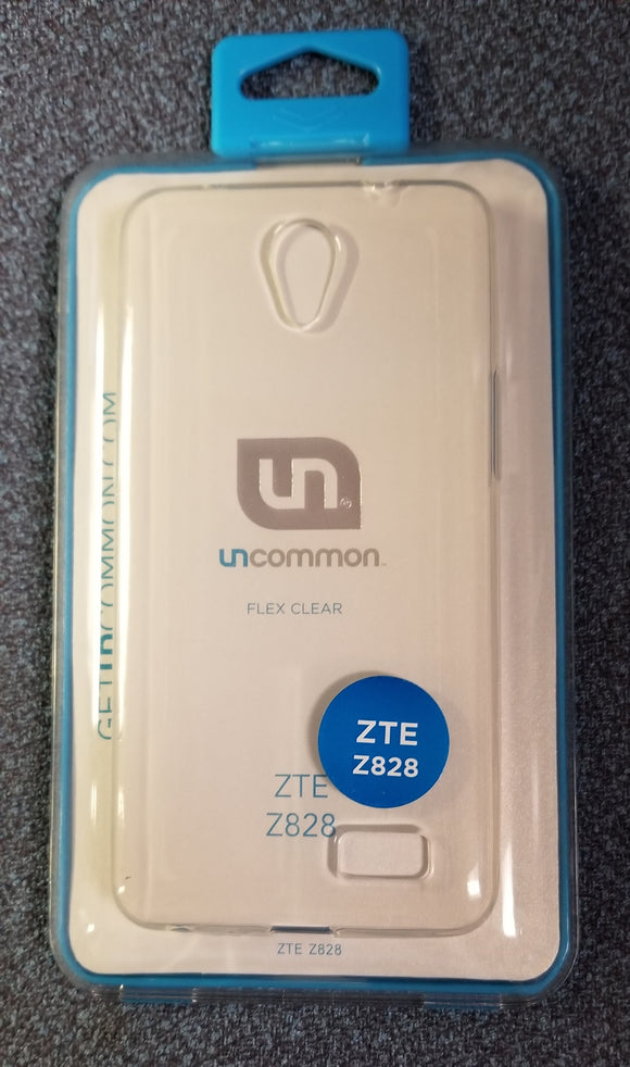 Uncommon Flex Clear Case for ZTE Z828 - Clear - Equipment Blowouts Inc.