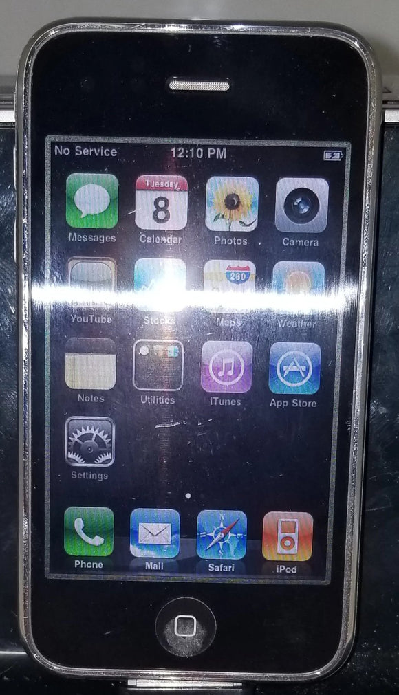 Apple iPhone 3G - 8GB - Black (AT&T) A1241 (GSM) - Equipment Blowouts Inc.