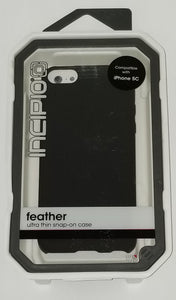 Incipio Feather for Iphone 5C - Black - Equipment Blowouts Inc. Established 2005.