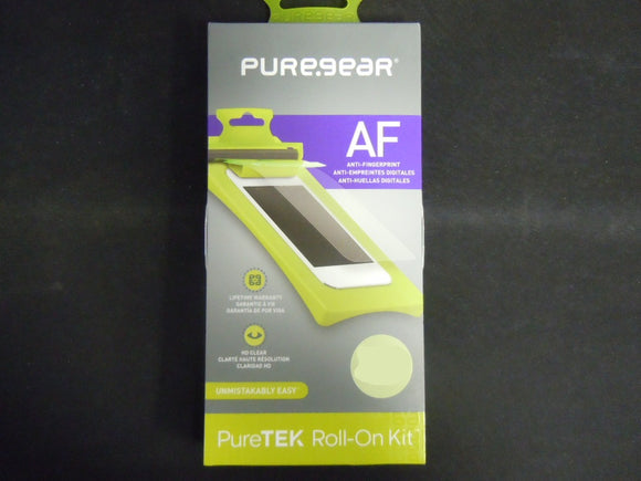 PureGear Samsung Galaxy S6 AF Screen Protector PureTek Roll-On Kit - Equipment Blowouts Inc. Established 2005.