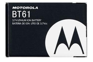 Motorola OEM BT61 BATTERY FOR Q9 Q9m Q9h V325 V323 V360 I880 I885 KRZR K1m - Equipment Blowouts Inc. Established 2005.