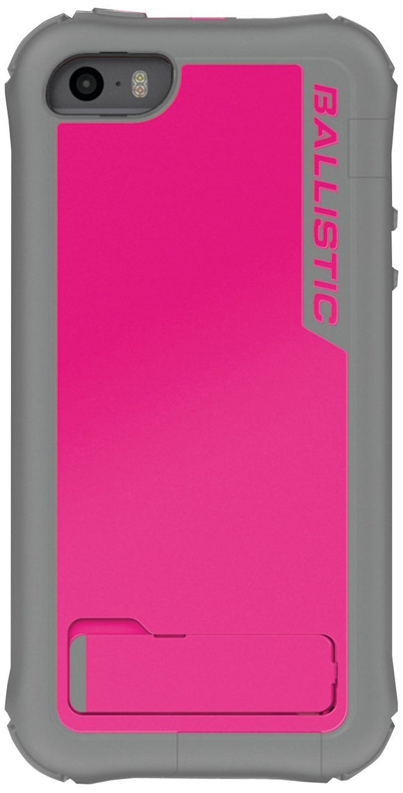 Ballistic Every1 Series Case for iPhone 5/5s - Retail Packaging - Raspberry Pink - Equipment Blowouts Inc.