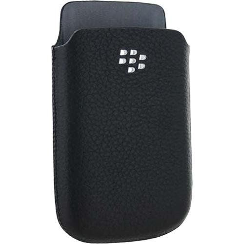 BlackBerry Torch Leather Pocket Case (Black) - Equipment Blowouts Inc. Established 2005.
