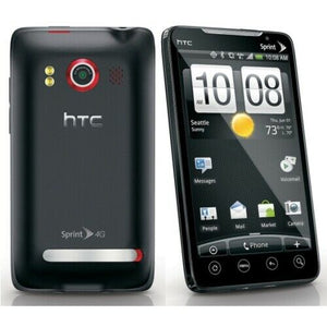 HTC EVO 4G - 1GB - Black (Sprint) Android Smartphone PC36100 APA-9292 - Equipment Blowouts Inc.