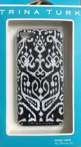 Iphone 5C Trina Turk Snap Case -IKat Black- by Medge - Equipment Blowouts Inc. Established 2005.
