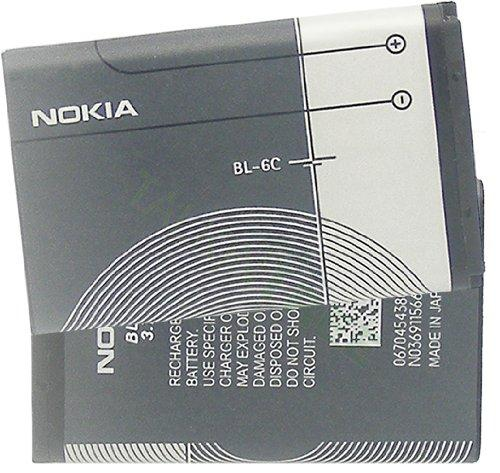 Nokia BL-6C BATTERY 2128i 2865i vi-3155 3155i  2115, 6015, 6255 Series - Equipment Blowouts Inc. Established 2005.
