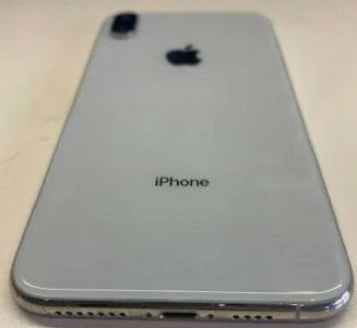 OEM Apple iPhone XS MAX back rear housing door chasis frame Silver / white - Equipment Blowouts Inc.
