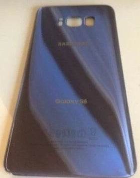OEM Samsung Galaxy S8 Battery Cover Glass Housing Rear back Door - Equipment Blowouts Inc.
