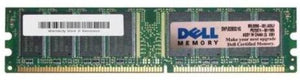 Memory Card SNPJ0203C/1G Dell 1GB DDR Non ECC PC-3200 400Mhz Memory - Equipment Blowouts Inc.