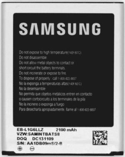 Samsung Battery For Galaxy S3 EB-L1G6LLZ 2100mAh - Equipment Blowouts Inc. Established 2005.