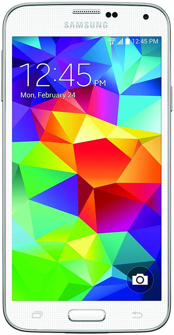 Samsung Galaxy S5 G900p 16GB Sprint 4G LTE Smartphone w/ 16MP Camera - White