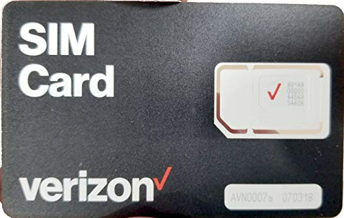 Tri-Cut Verizon Sim Card - Equipment Blowouts Inc.