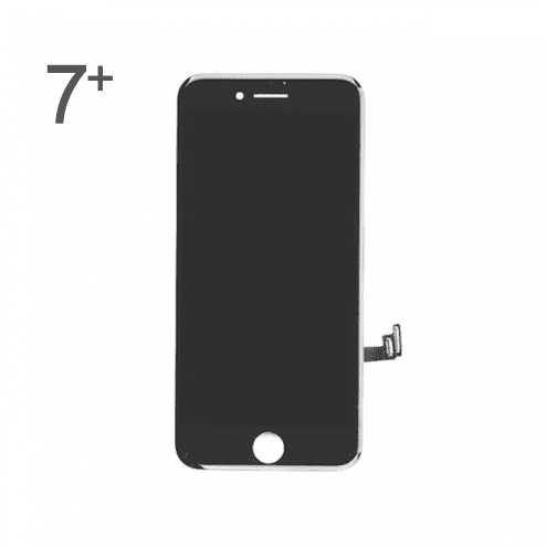 OEM Reclaimed Premium LCD and Digitizer Glass Screen Replacement for iPhone 7 Plus - Black