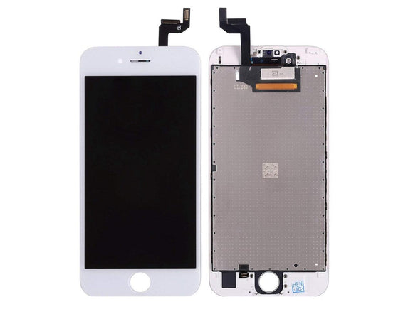 OEM Reclaimed Premium LCD and Display Digitizer Glass Screen Replacement for iPhone 6s - White