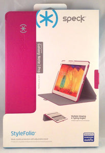 "Samsung Galaxy Note Pro 12.2"" Display Stylefolio - Pink - by Speck - Equipment Blowouts Inc. Established 2005."