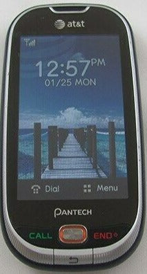 Pantech Ease P2020 - Blue (AT&T) Cellular Phone
