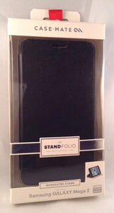 Samsung Galaxy Mega 2 Stand Folio - Black - by CaseMate - Equipment Blowouts Inc. Established 2005.