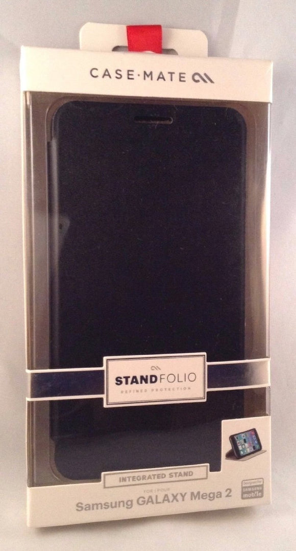 Samsung Galaxy Mega 2 Stand Folio - Black - by CaseMate - Equipment Blowouts Inc.