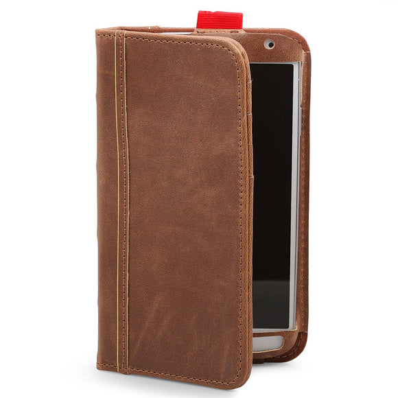 Aduro BookCase Folio & Wallet Case for Samsung Galaxy S4 - Brown - Equipment Blowouts Inc.