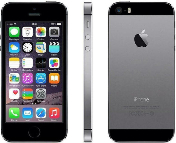Apple iPhone 5s - 16GB - Space Gray  A1533 (GSM) AT&T - Equipment Blowouts Inc.