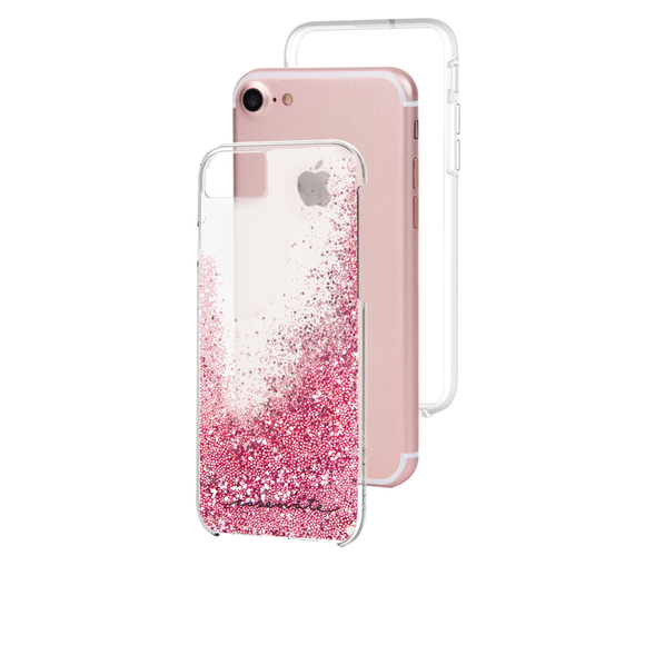 Case-Mate Waterfall Case iPhone 7/6s/6 Rose Gold, CM034682X (Rose Gold) - Equipment Blowouts Inc.